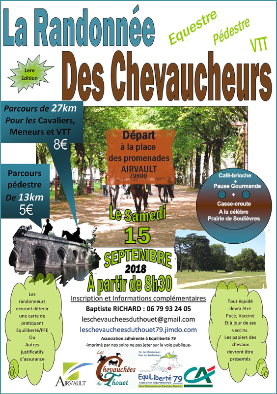 Affiche Chevauchees 2